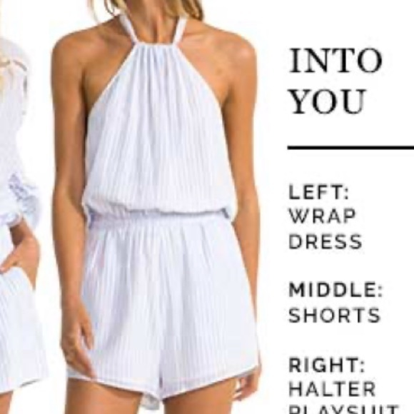 Suboo Into You Halter Playsuit NWT